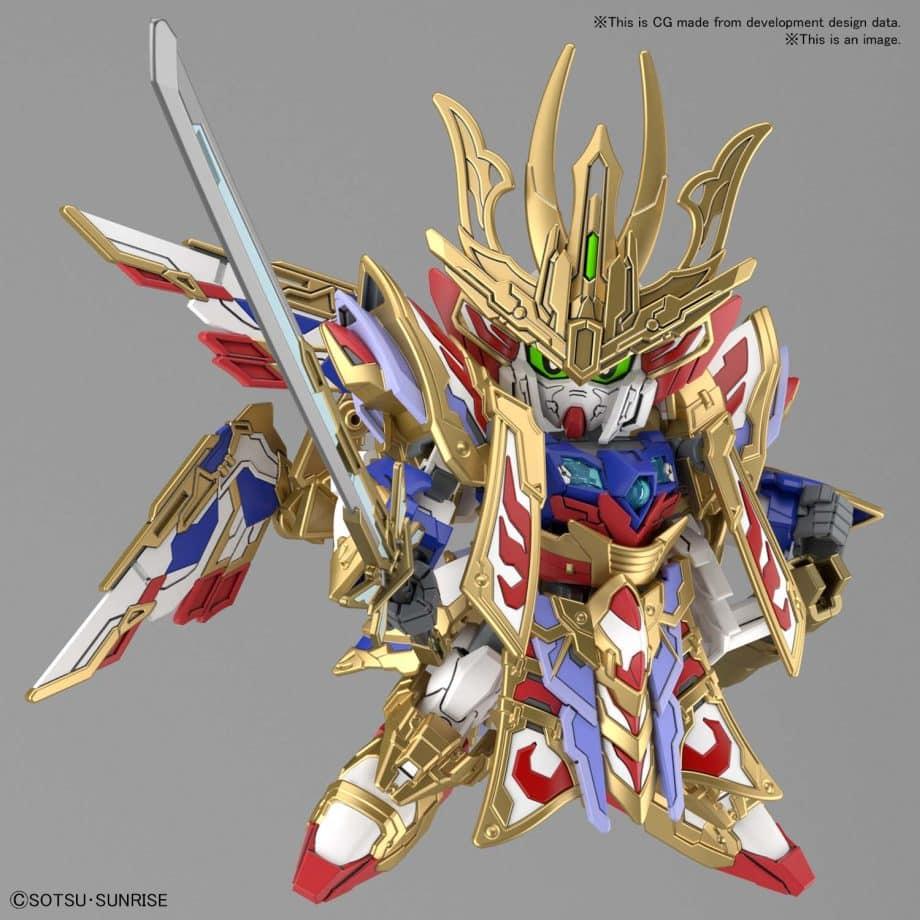 Cao Cao Wing Gundam Isei Style Pose 4