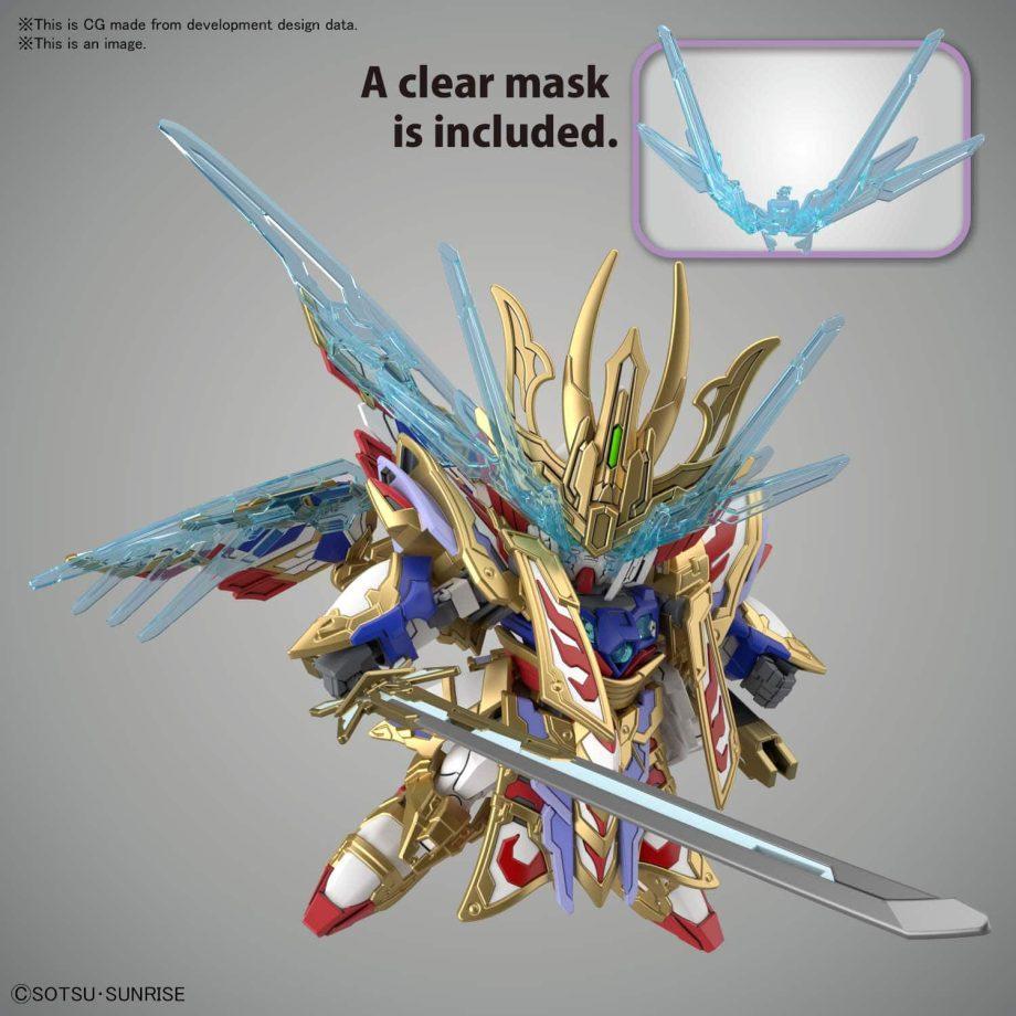 Cao Cao Wing Gundam Isei Style Pose 5