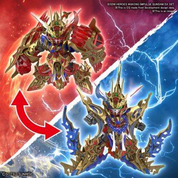 Wukong Impulse Gundam DX Set Pose 1