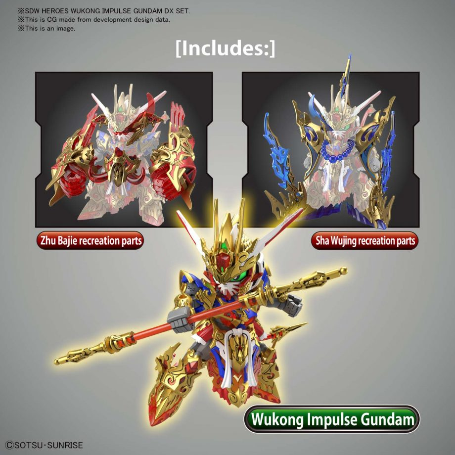 Wukong Impulse Gundam DX Set Pose 3