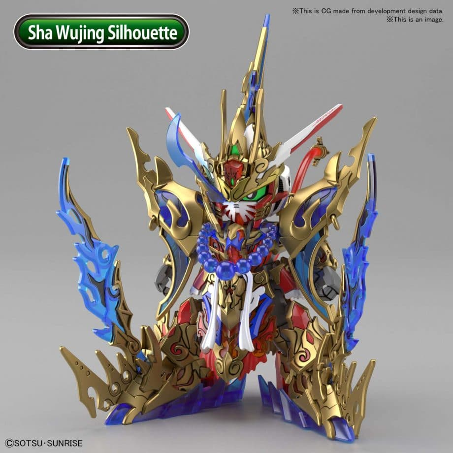 Wukong Impulse Gundam DX Set Pose 5