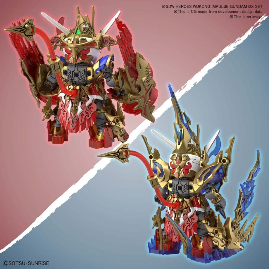 Wukong Impulse Gundam DX Set Pose 6