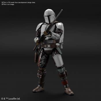 1/12 Beskar Armor Model Kit Pose 1