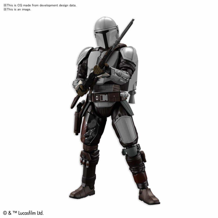 1/12 Beskar Armor Model Kit Pose 2