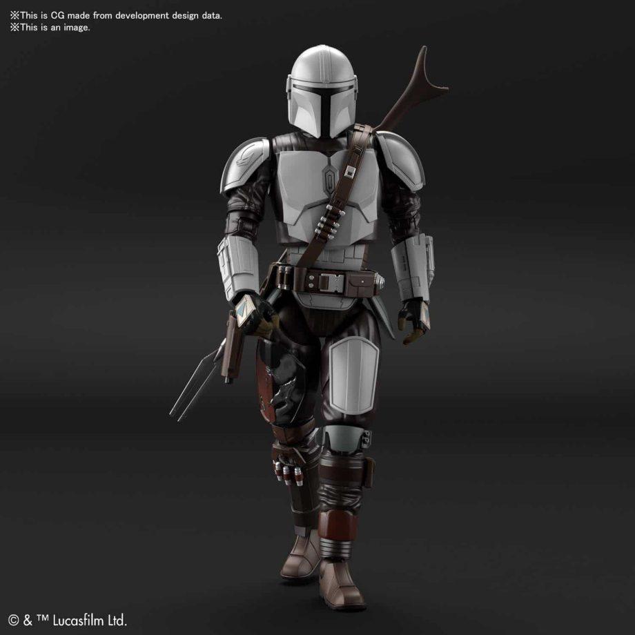 1/12 Beskar Armor Model Kit Pose 3