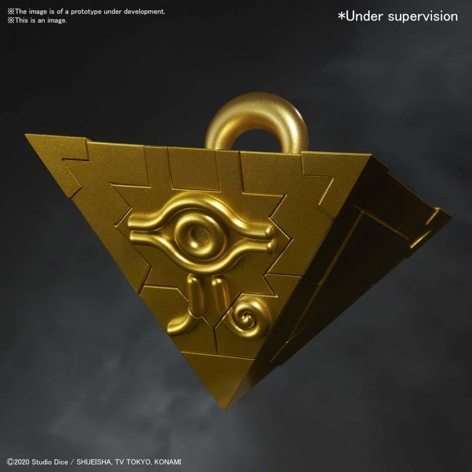 Yu Gi Oh! Ultimagear Millennium Puzzle Kit Pose 1