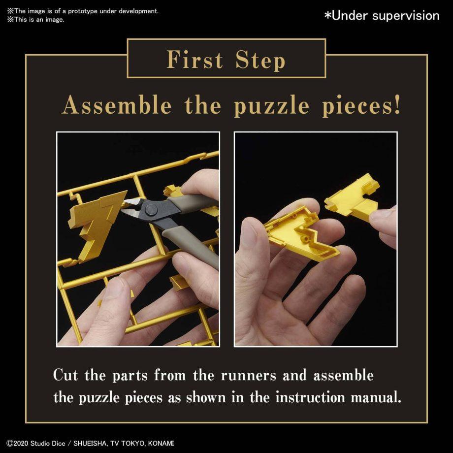 Yu Gi Oh! Ultimagear Millennium Puzzle Kit Pose 3