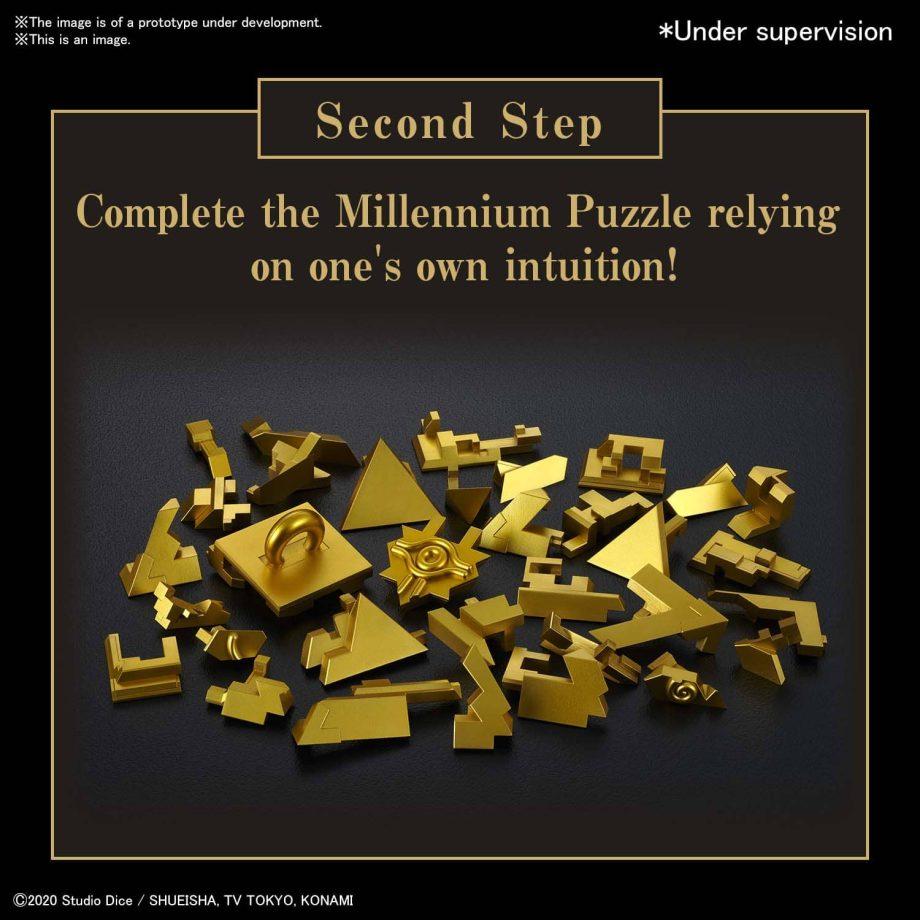 Yu Gi Oh! Ultimagear Millennium Puzzle Kit Pose 4