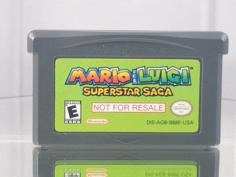 Mario & Luigi Superstar Saga Not For Resale
