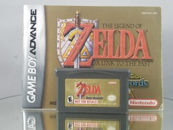 The Legend Of Zelda A Link To The Past Four Swords Not For Resale