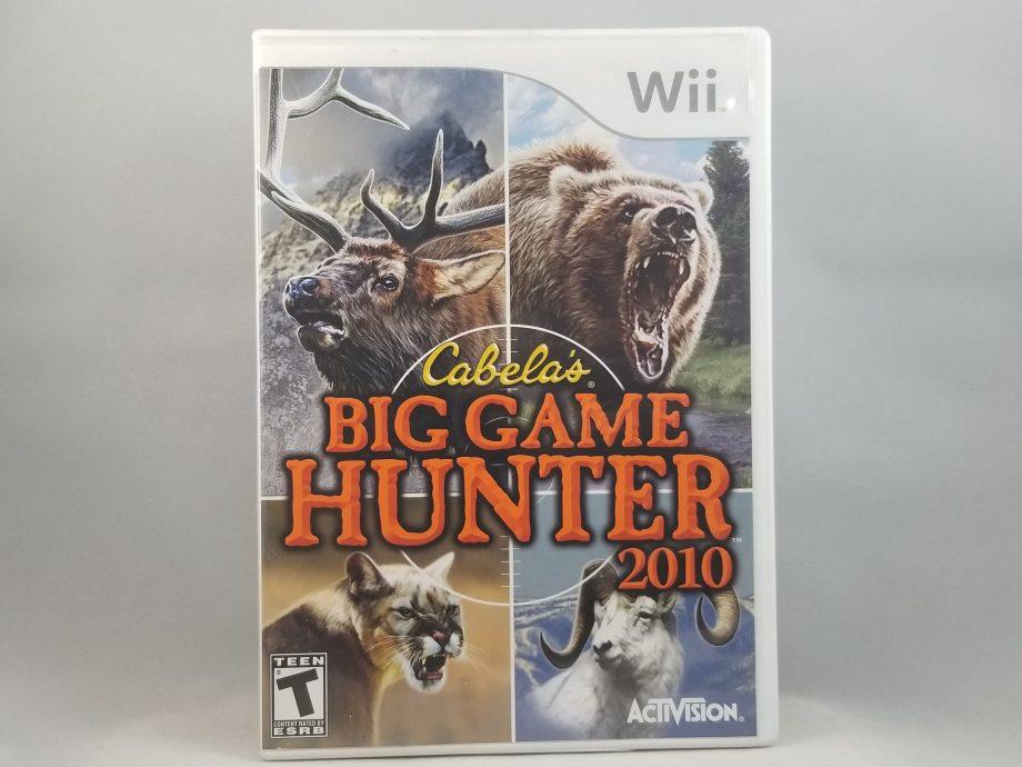 Cabela's Big Game Hunter 2010 Front