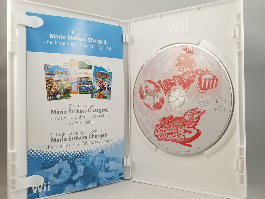 Mario Strikers Charged Disc