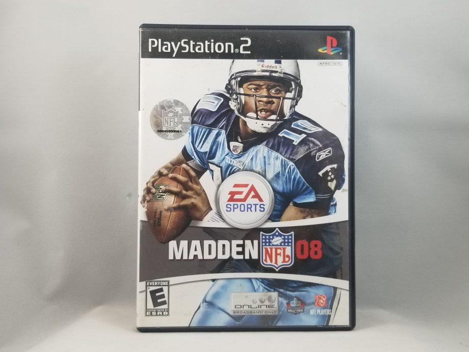 Madden NFL 08 Front