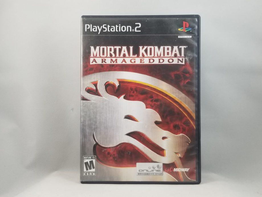 Mortal Kombat Armageddon Front
