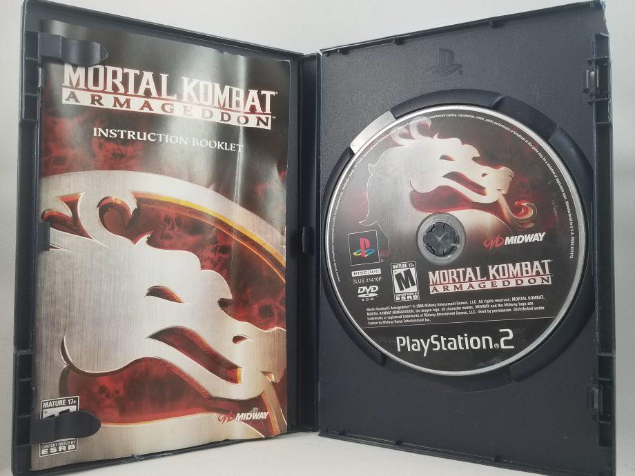 Mortal Kombat Armageddon Disc