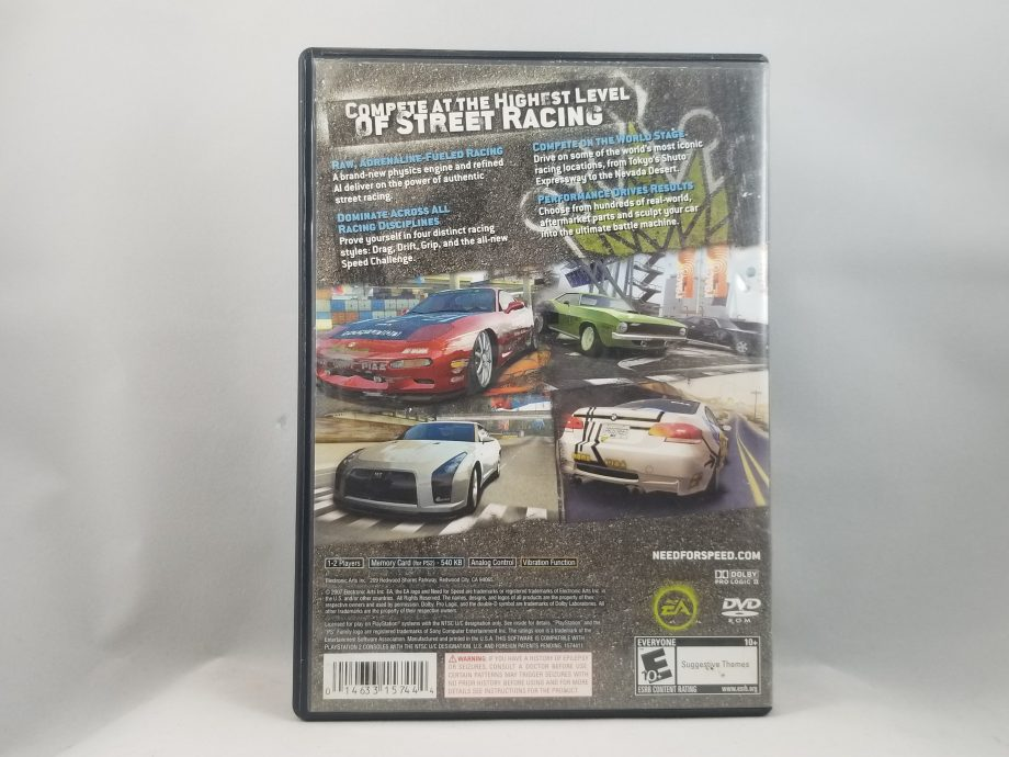 Need For Speed Pro Street Back