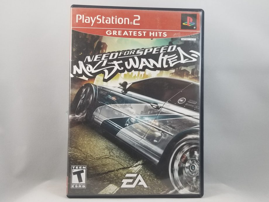 Need For Speed Most Wanted Front
