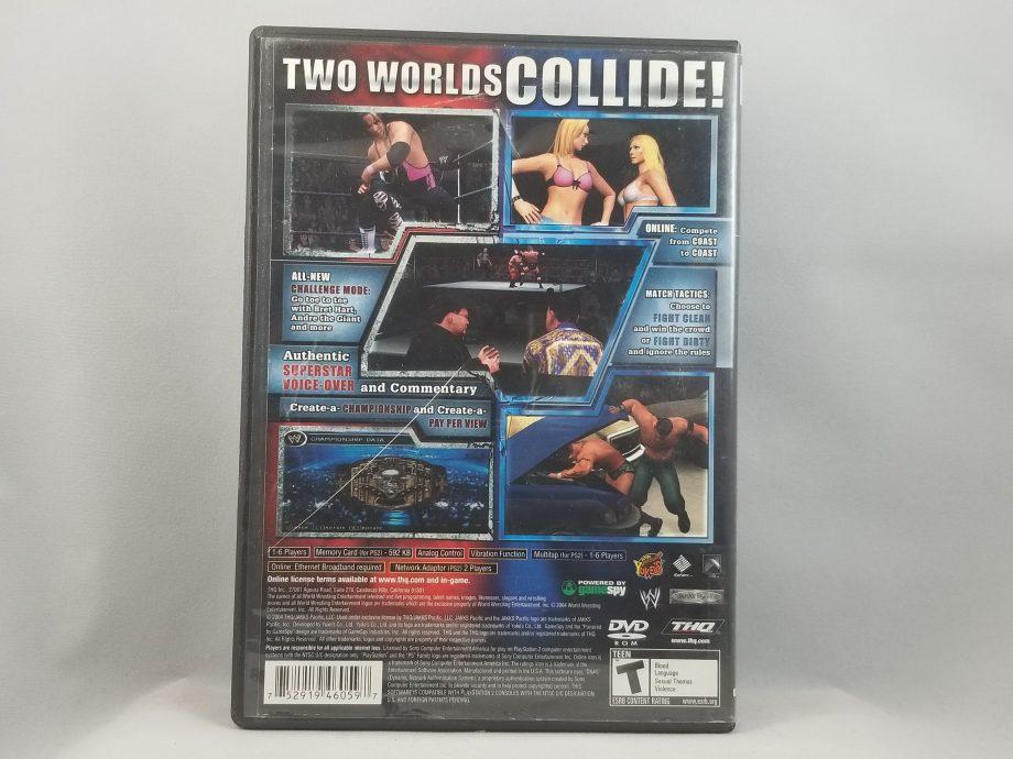 WWE Smackdown VS Raw Back