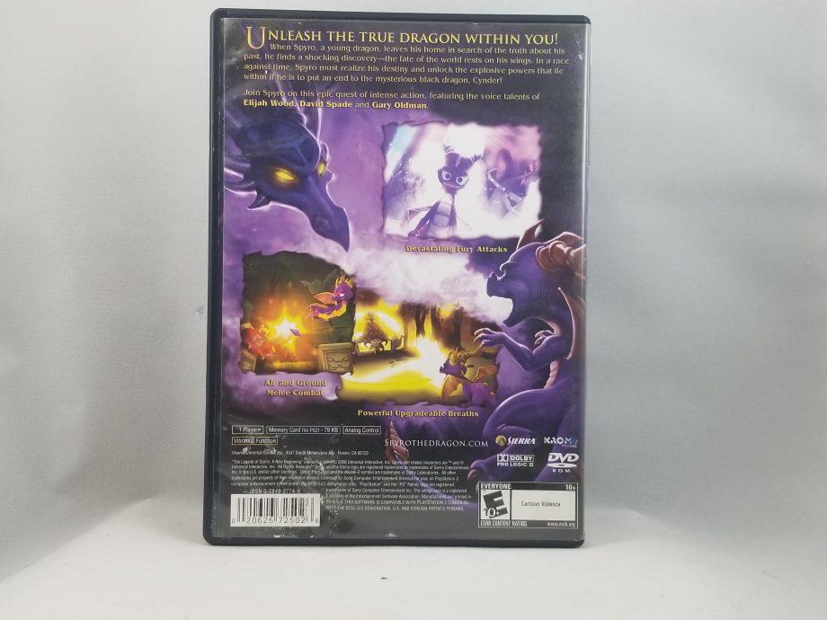 The Legend Of Spyro A New Beginning Back
