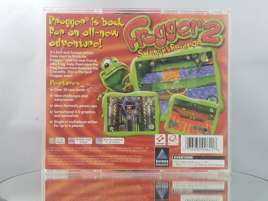 Frogger 2 Swampy's Revenge Back