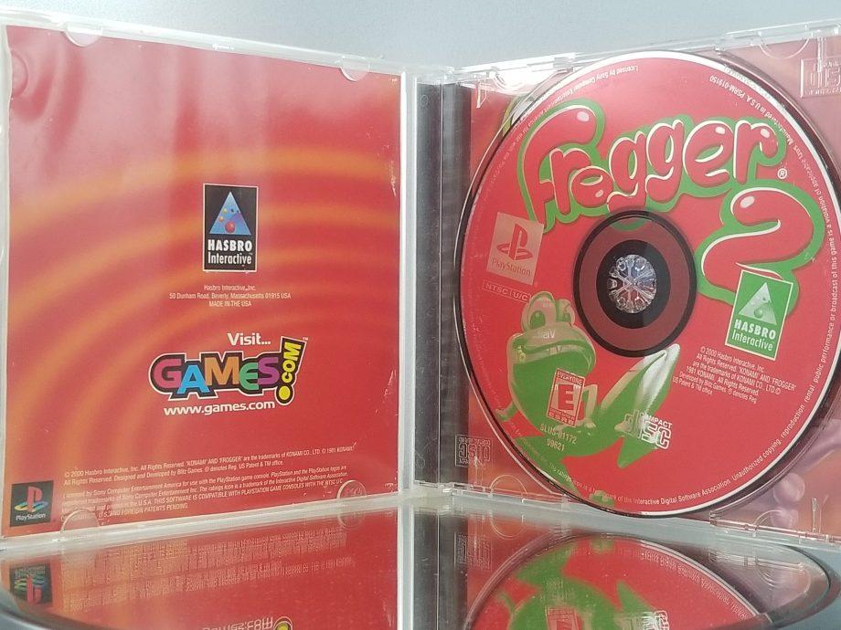 Frogger 2 Swampy's Revenge Disc