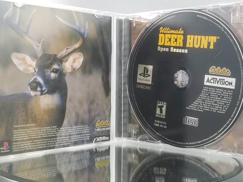 Cabela's Ultimate Deer Hunt Open Season Disc