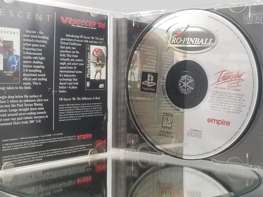 Pro Pinball Disc