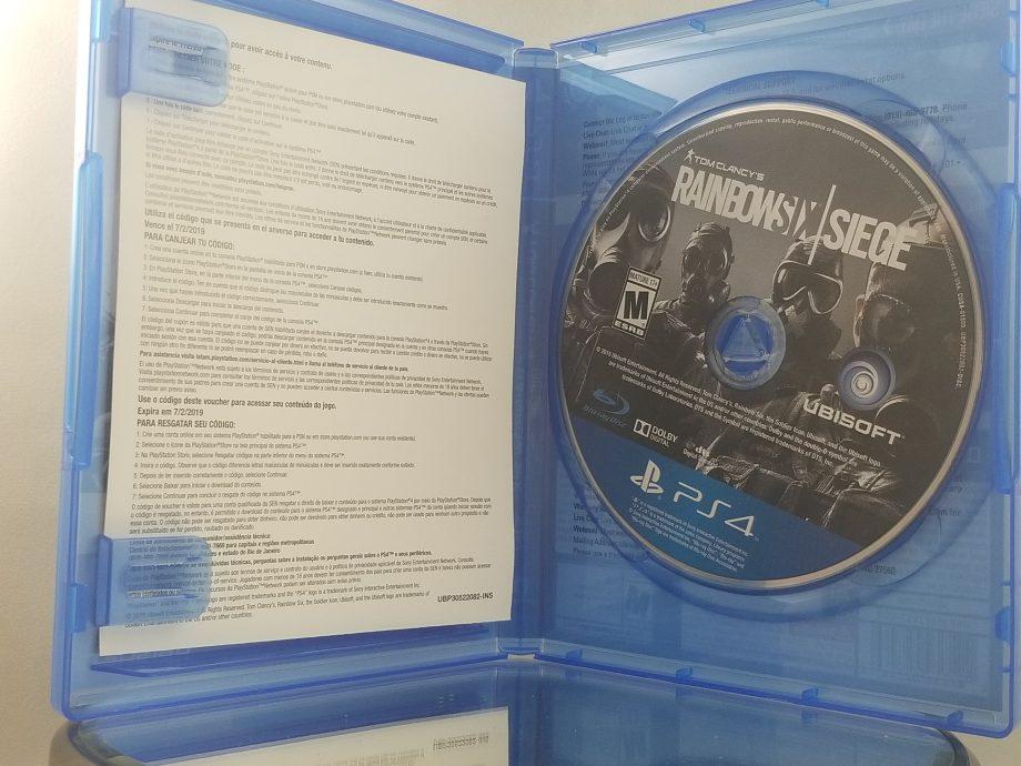 Rainbow Six Siege Year 2 Disc