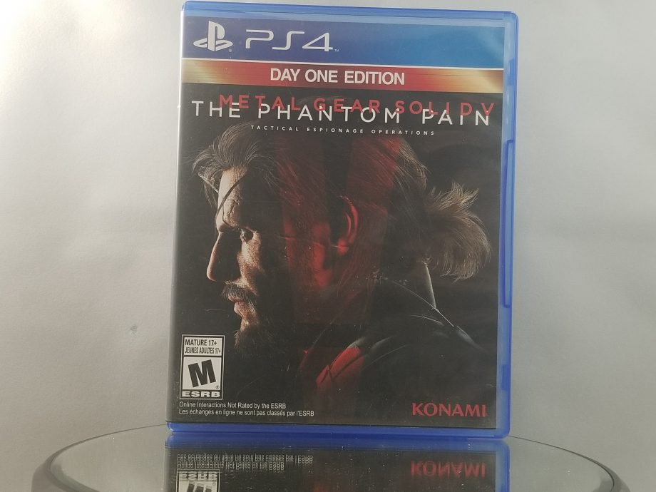 Metal Gear Solid V The Phantom Pain Front