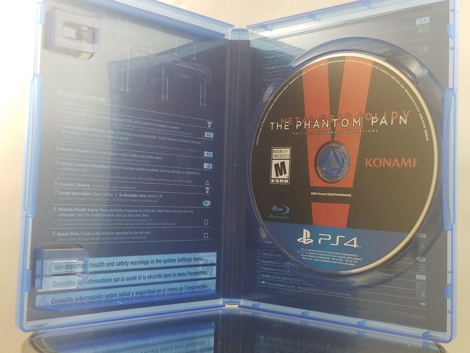 Metal Gear Solid V The Phantom Pain Disc