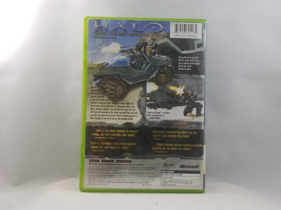 Halo Combat Evolved Back