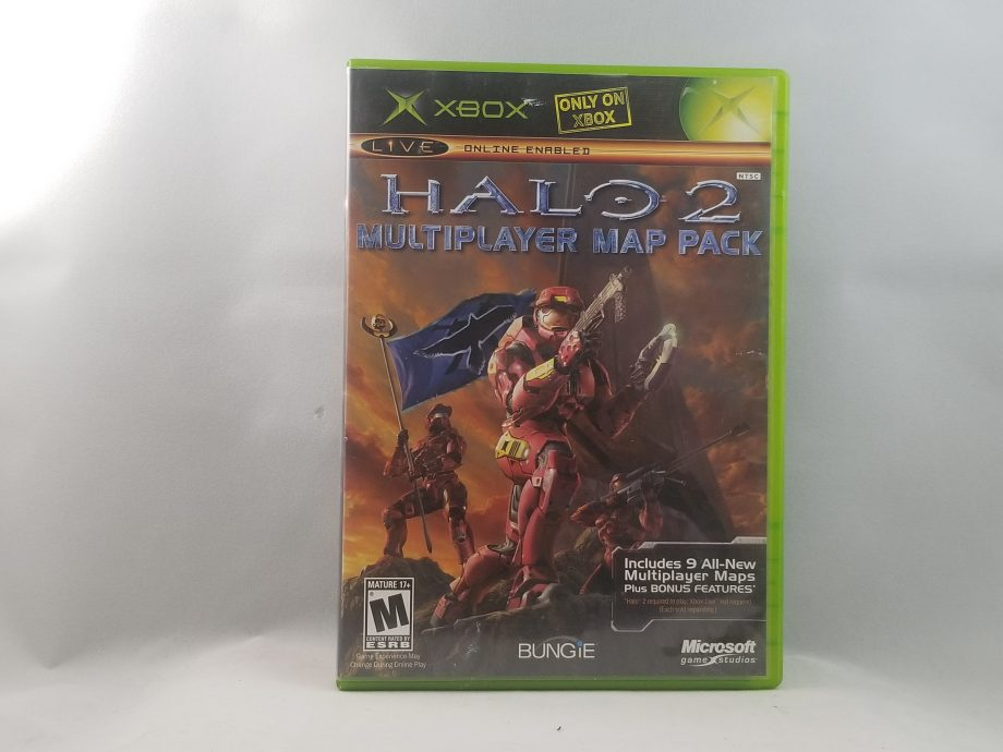 Halo 2 Multiplayer Map Pack Front