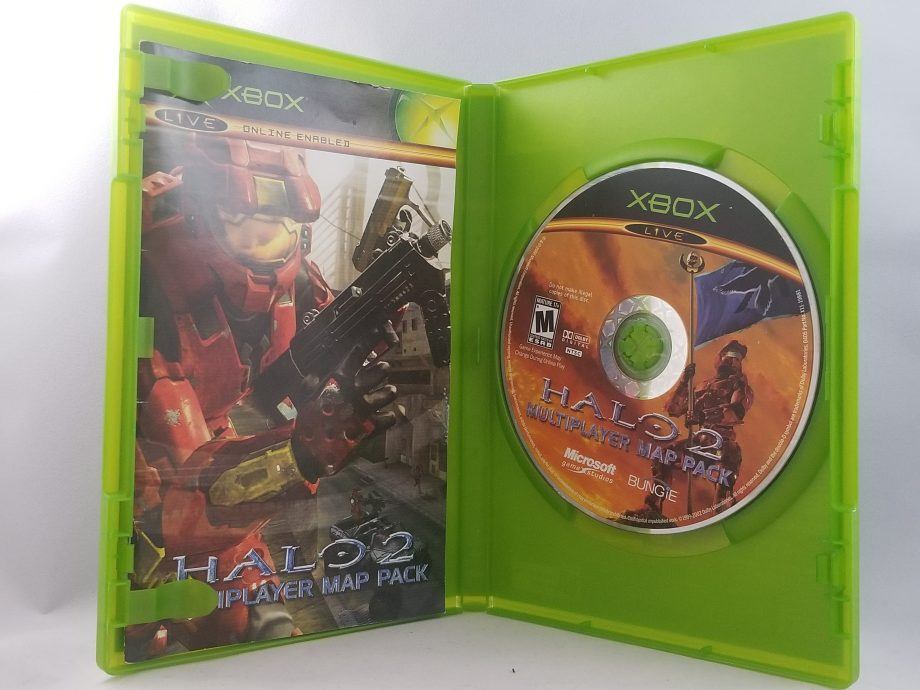 Halo 2 Multiplayer Map Pack Disc