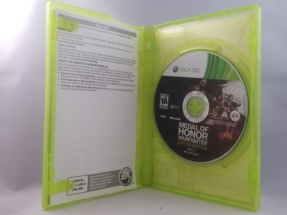 Medal Of Honor Warfighter Disc