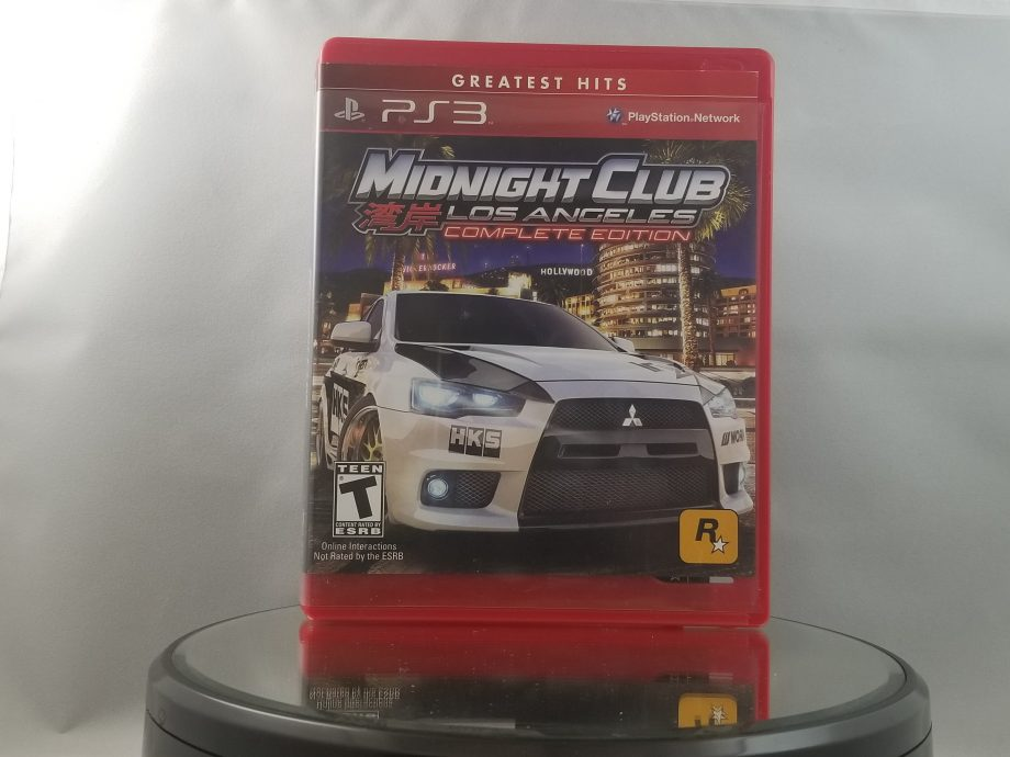 Midnight Club Los Angeles Complete Edition Front