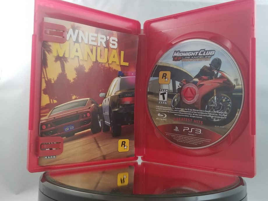 Midnight Club Los Angeles Complete Edition Disc