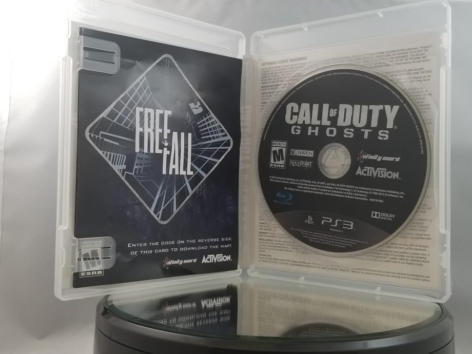 Call Of Duty Ghosts Disc