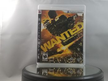Wanted Weapons Of Fate Front