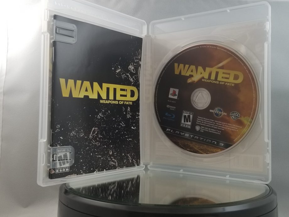 Wanted Weapons Of Fate Disc