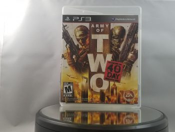 Army Of Two The 40th Day Front