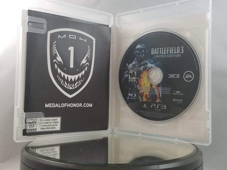 Battlefield 3 Limited Edition Disc