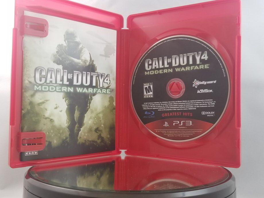 Call Of Duty 4 Modern Warfare Disc