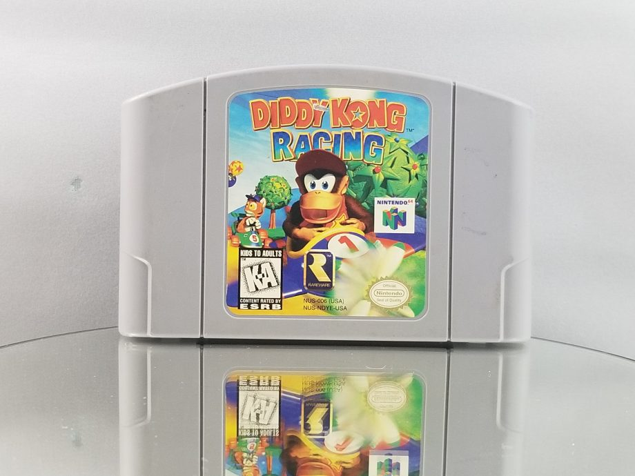 Diddy Kong Racing Front
