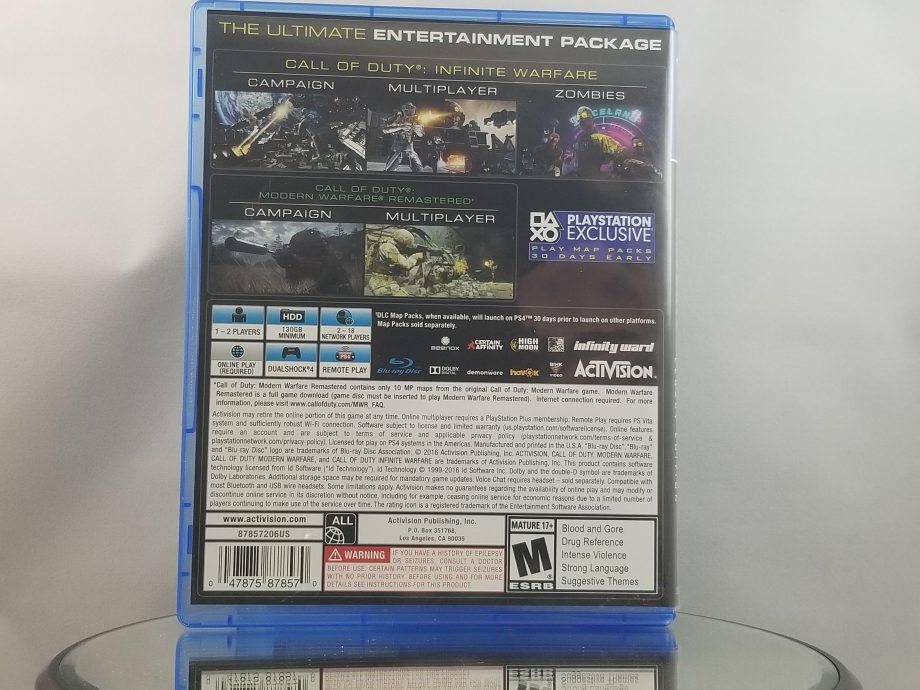 Call Of Duty Infinite Warfare Legacy Edition Back
