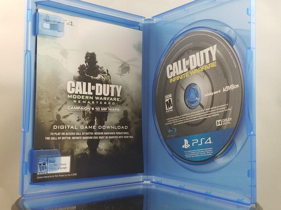 Call Of Duty Infinite Warfare Legacy Edition Disc