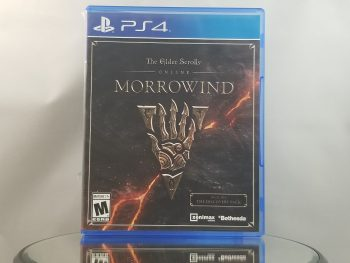 Elder Scrolls Online Morrowind Front