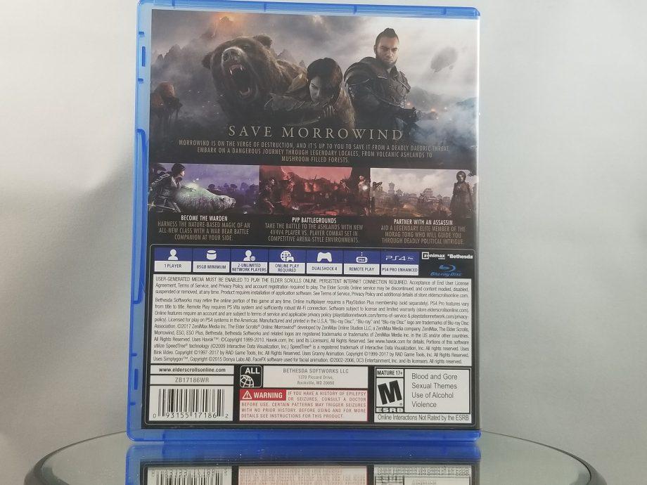 Elder Scrolls Online Morrowind Back