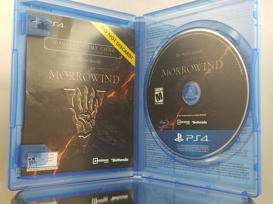 Elder Scrolls Online Morrowind Disc