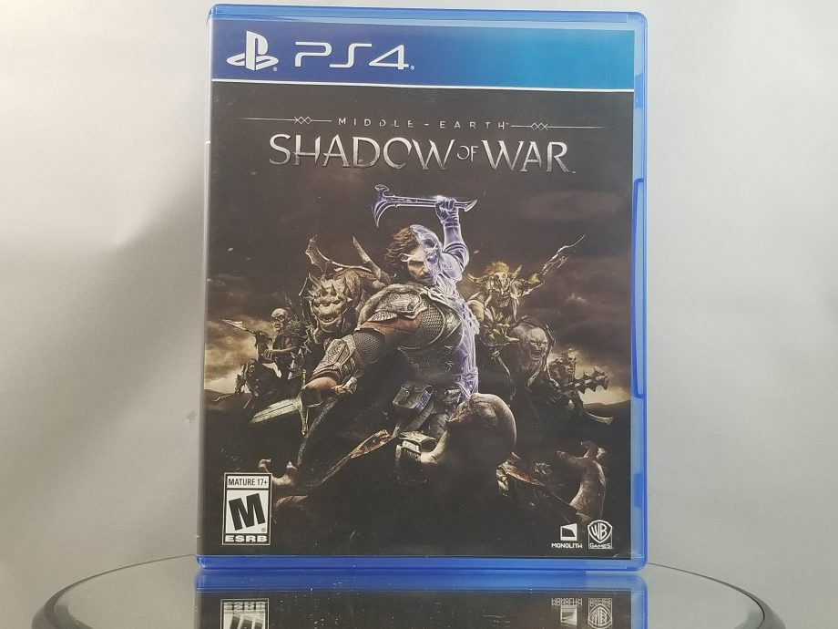 Middle Earth Shadow Of War Front