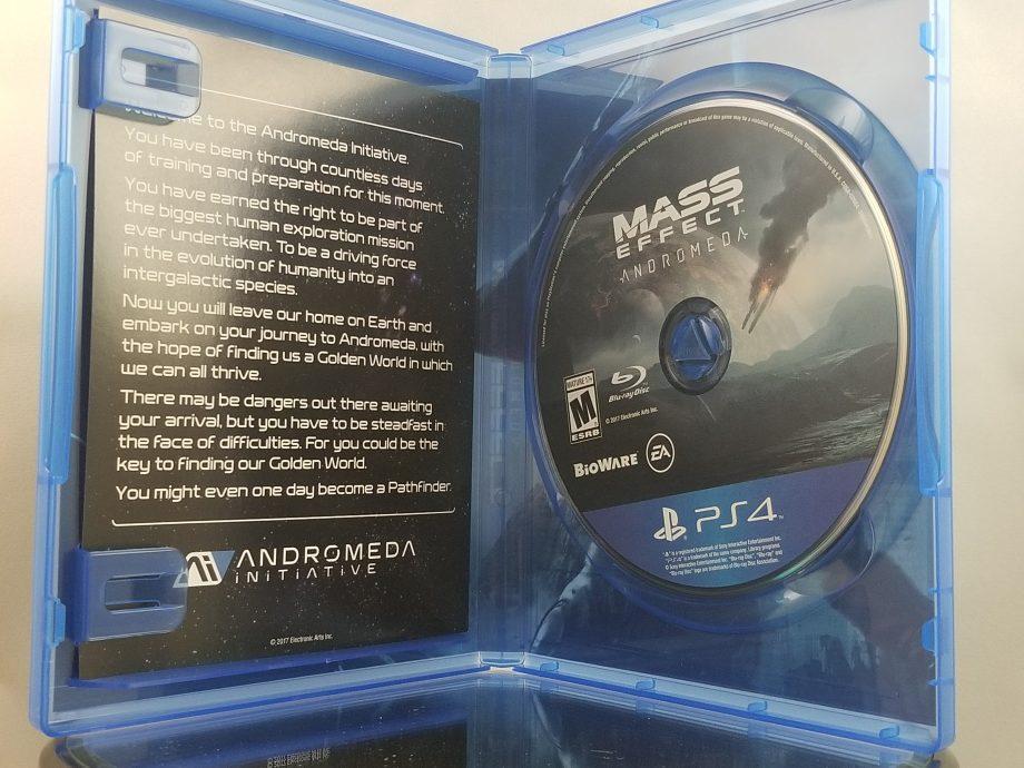 Mass Effect Andromeda Disc